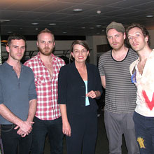News Photo - Coldplay Donation